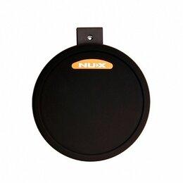 Ударные установки и инструменты - Nux 09001-14000-12010 Пэд малого барабана 11'', для установок DM-2 и D, 0