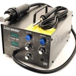 Электрические паяльники - Термовоздушная паяльная станция Lukey 852D+, 0