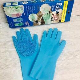 Перчатки - Перчатки силиконовые прозрачные хозяйственные, 0