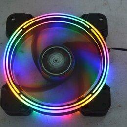 Кулеры и системы охлаждения - Вентилятор SNOWMAN 120х120 RGB, 0