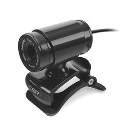 Веб-камеры - Веб-камера CBR CW 830M Black, 0.3 МП, 640х480, USB 2.0, микрофон, чёрная, 0