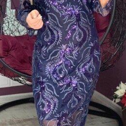 Платья - Вечернее гипюровое платье р-ры 56-62, 0