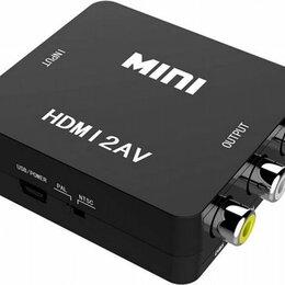 Кабели и разъемы - Hdmi2AV VGA2hdmi Конвертер hdmi в AV сигнал, 0