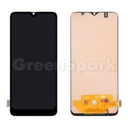 Дисплеи и тачскрины - Дисплей для Samsung A705/A707 Galaxy A70/A70S + тачскрин (черный) (copy LCD)(..., 0