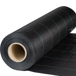Укрывной материал и пленка - Агроткань мульчирующая застилочная 130 г/м2, 0