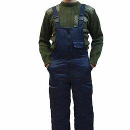 Одежда - Полукомбинезон мужской строительный зимний, 0
