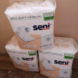 Пеленки, клеенки - Пеленки Seni Soft Normal SE-091-SN10-J03, 60 х 90 см (10 шт. в упаковке), 0