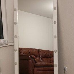 Мебель - Гримерное зеркало с лампочками в полный рост, 0