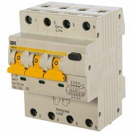 Концевые, позиционные и шарнирные выключатели - АВДТ 34 C32 30мА - Автоматический Выключатель Дифф. тока ИЭК, 0