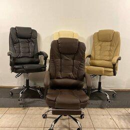 Компьютерные кресла - Компьютерное Офисное кресло босса с вибромассажем, 0