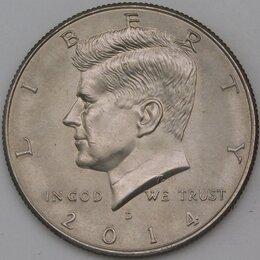 Монеты - США 1/2 доллара 50 центов 2014 D UNC арт. 30379, 0