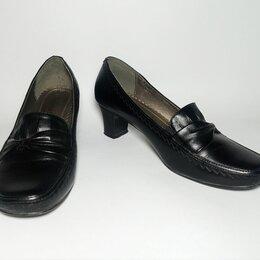 Туфли - Туфли «LEINUO». Кожа. UK – 5 или 38 по стельке 25 см, высота каблука 5,5 см., 0