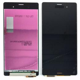Дисплеи и тачскрины - Дисплей для Sony Xperia Z3 D6603 / D6633 / L55T черный,оригинал, 0