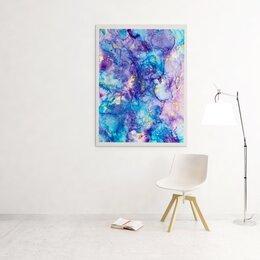 Картины, постеры, гобелены, панно - Картина спиртовыми чернилами «вселенная» , 0