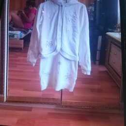 Комплекты - Костюм ITALY,платье с накидкой для девочки, 0