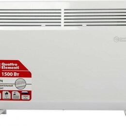 Встраиваемые конвекторы и решетки - Конвектор QUATTRO ELEMENTI QE-1500KS [790-502], 0