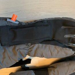 Защита и экипировка - Перчатки для сноубординга или лыж с защитной вставкой размер м, 0