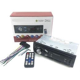 Музыкальные центры,  магнитофоны, магнитолы - Автомагнитола PiNeR usb, micro, aux, пульт, fm 3011, 0