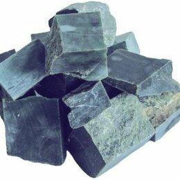 Камни для печей - Камень для бани Жадеит премиум колото - пиленый 10 кг (40), 0