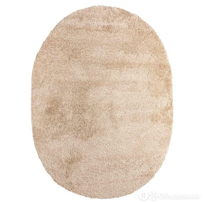 Витебские ковры Ковёр Фризе «Шегги», цвет меланж, овал 160х230 см по цене 6975₽ - Ковры и ковровые дорожки, фото 0