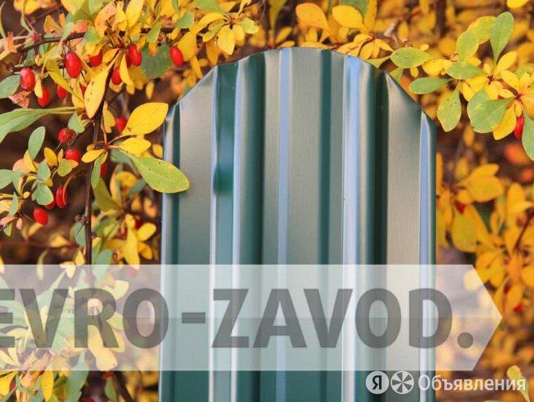 Евроштакетник, С-образный, RAL 6005 по цене 62₽ - Заборы, ворота и элементы, фото 0