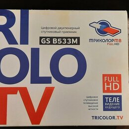 Спутниковое телевидение - Триколор через интернет. Тюнер GS B533M, 0