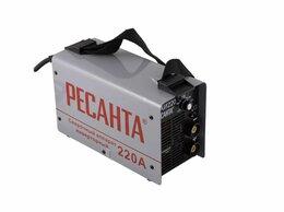 Сварочные аппараты - Аппарат сварочный инверторный 220А САИ220 Ресанта, 0