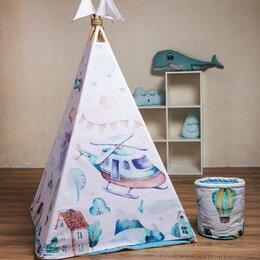 Игровые домики и палатки - Детский вигвам игровой Самолетик, 0