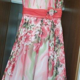 Платья и сарафаны - Платье нарядное для девочки 6-8 лет, 2000 руб, 0