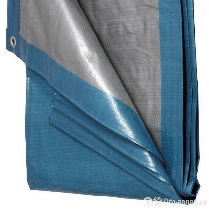 Тент Тарпаулин 80 г/м2 3х4 с люверсами по цене 336₽ - Тенты строительные, фото 0