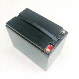 Аккумуляторы и комплектующие - Аккумуляторная батарея 12В 50Ач (LiFePO4, 4S1P, LF02-1250), 0