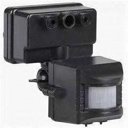 Дополнительное оборудование и аксессуары - Датчик движения ДД 019 черн, макс. нагрузка 1100Вт, угол обзора 120 гр, дальност, 0