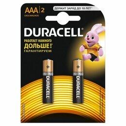 Батарейки - Батарейки Duracell LR03-2BL BASIC 2шт ААА, 0