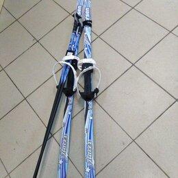 Беговые лыжи - Комплект Беговые лыжи+палки+крепления цикл, 0