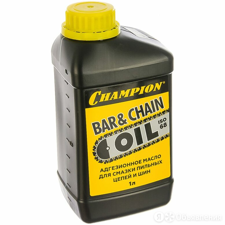 Масло для смазки пильных цепей и шин Champion 952824 по цене 361₽ - Масла, технические жидкости и химия, фото 0