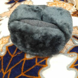 Головные уборы - шапка ушанка зимняя, 0