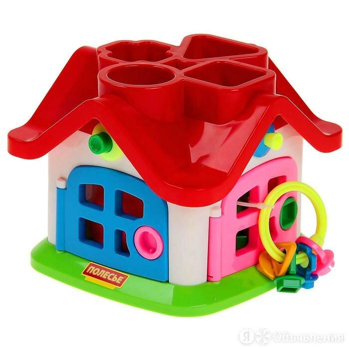 Развивающая игрушка 'Логический теремок' по цене 1676₽ - Сортеры, фото 0