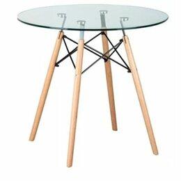 Столы и столики - Стекланный обеденный стол, 0