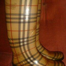 Резиновые сапоги и калоши - Burberry резиновые сапоги оригинал р.36, 0