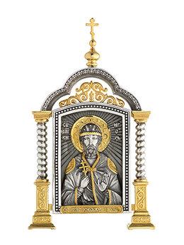 Иконы - Парадная икона «Святой Игорь», 0