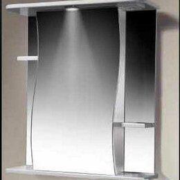 Зеркала - Какса Зеркало шкаф Какса Волна 62 с подсветкой, 0