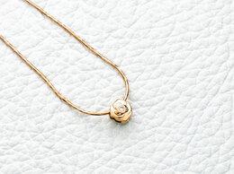 Колье - Колье с 2 бриллиантами из красного золота, 0