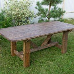 Столы - Стол из массива сосны, 0