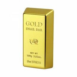 Мыло - Мыло для умывания с экстрактом золота, муцина улитки, оливы 100г Gold Snail ..., 0