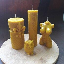 Декоративные свечи - Свечи из натурального воска, 0