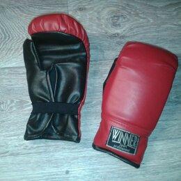 Боксерские перчатки - Перчатки боксёрские детские Winner Professional, 0