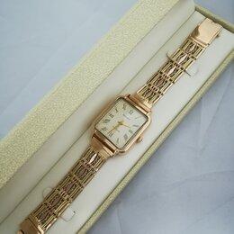 Наручные часы - часы / размер 19 / 44,65г / золото 585, 0