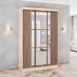 Шкафы, стенки, гарнитуры - Шкаф-купе стиль 1400 дуб сонома/венге текс, 0