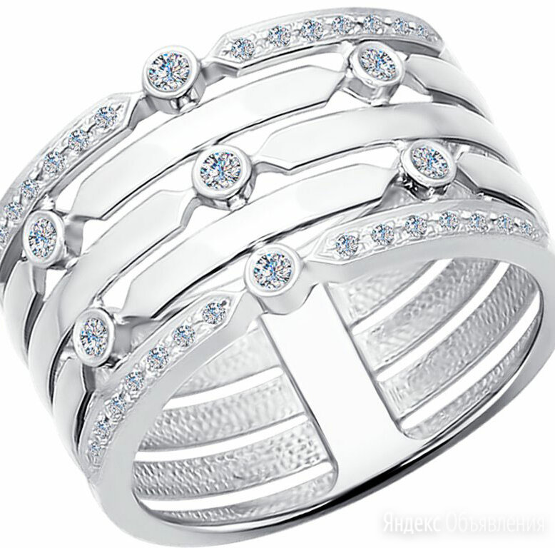 Кольцо SOKOLOV 1011573_s_18-5 по цене 39800₽ - Кольца и перстни, фото 0