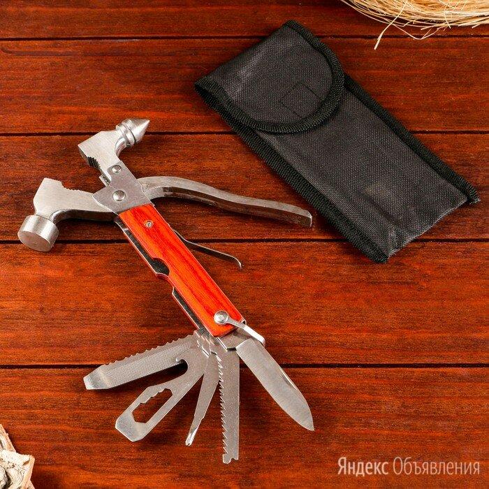 Мультитул молоток 8в1 дерево 8,5*16см по цене 941₽ - Ножи и мультитулы, фото 0